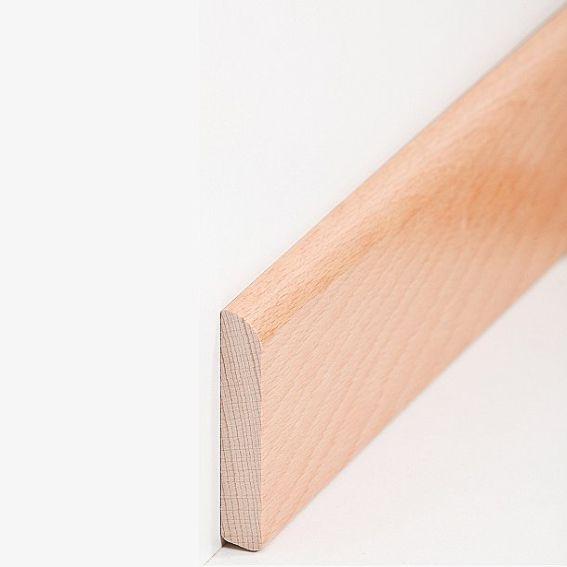 Sockelleisten ´´Osnabrück´´ - Buche gedämpft (M...