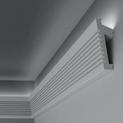 Lichtleiste / Stuckleiste 6.53.702 Lines | aus hochfestem und wasserfestem Polystyrol
