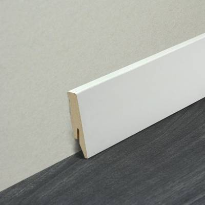 Fußleiste | Sockelleiste 58 x 18 mm Weiß (75974)