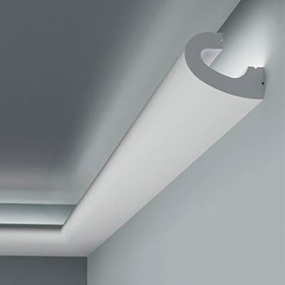 Licht - Stuckleiste 6.50.708 Lines   hochfestes, wasserfestes Polystyrol incl. Reflektionsklebeband