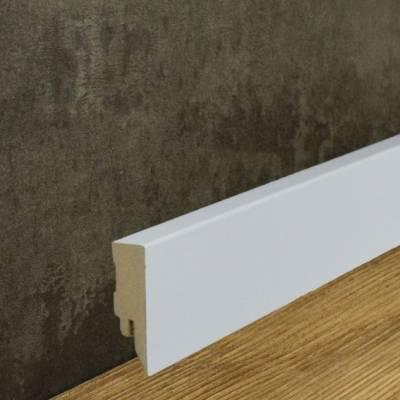 Sockelleiste / Fußleiste / Bodenleiste Cremona-2 (72003) - Weiß