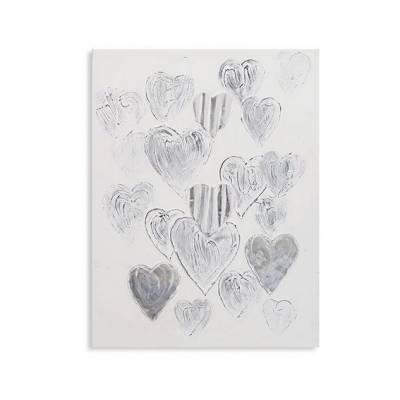 Ölbild_Hearts_1_x_8_mm_Deko_für_WohnzimmerOnline_kaufen