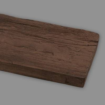 Wiesemann PU-Brett, aus hochfestem Polyurethan, 13 x 3 x 260 cm, dunkelbraun