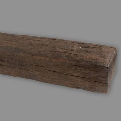 Wiesemann PU-Balken, aus hochfestem Polyurethan, 12 x 12 x 200 cm, dunkelbraun