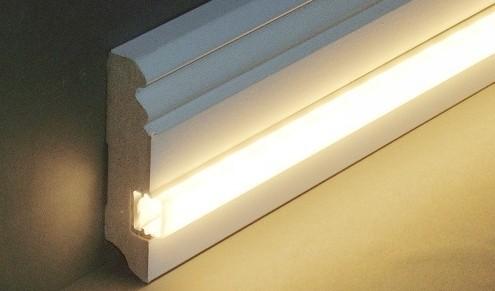 Licht LED Leisten Sockelleisten Fussleisten