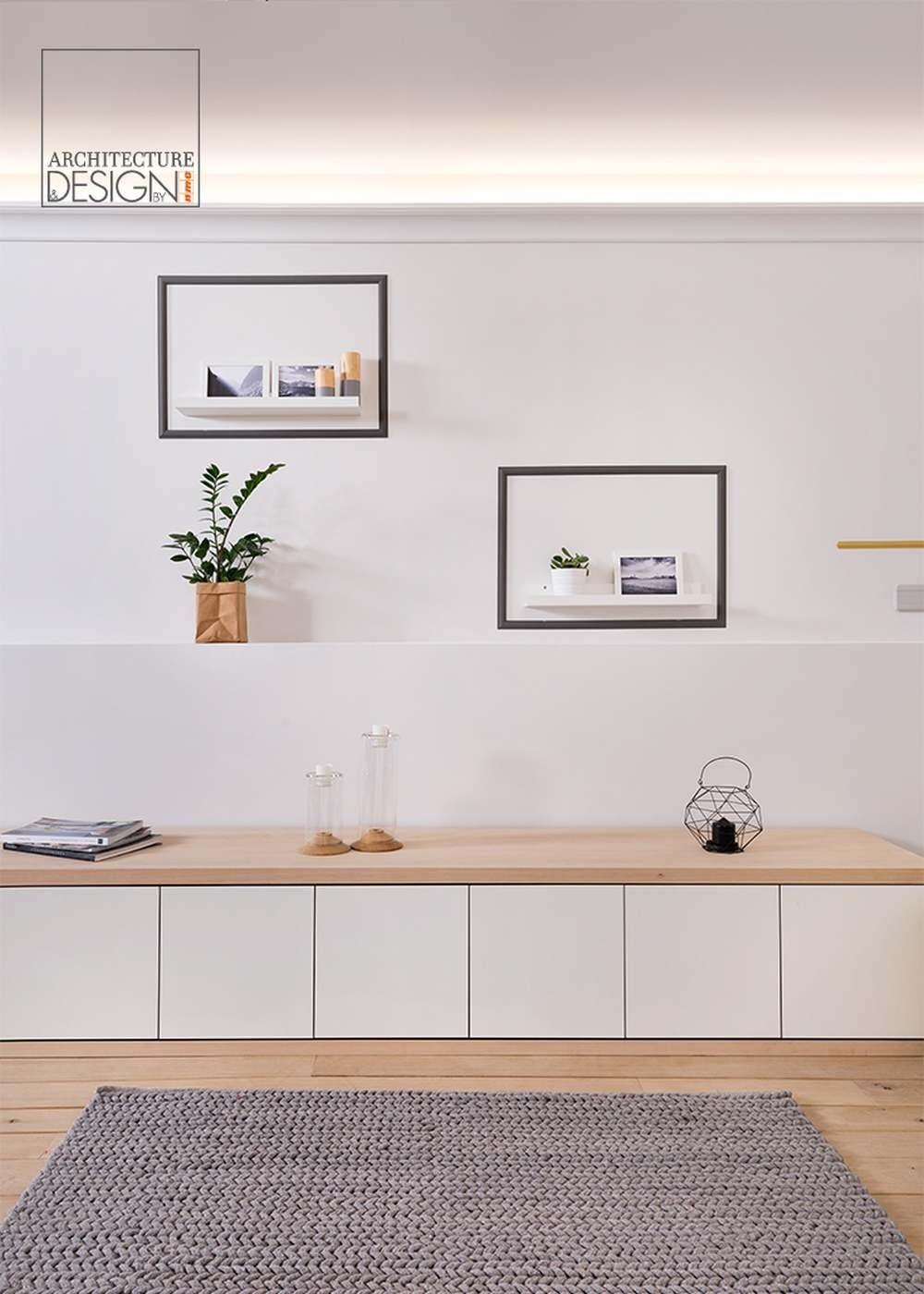 Mouldings for indirect lighting livingroom Z20