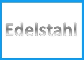 Edelstahl Profile
